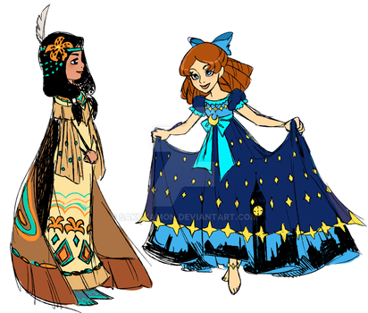 Limited Wendy and Tigerlily by Sakuyamon