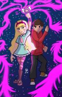 STAR AND MARCO (STAR VS THE FORCES OF EVIL) by TheNinjaflare