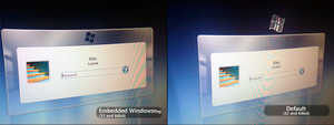 Windows 7 | Login Screen Reworked by alexandru-r-ghinea