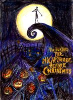 The Nightmare Before Christmas by Beque-au-cinema
