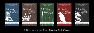 A song of ice and fire: custom covers by dmavromatis