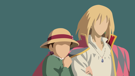 Howl and Sophie | Howl's Moving Castle by UzumakiAsh