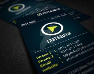 Business Card Design 4 by FBAstudio