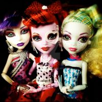 Dot Dead Trio by dolladay