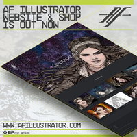 AF Illustrator Website Launch by AlejandroFiny