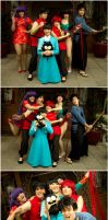 Ranma Group Shenanigans by queencattabby