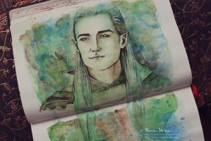 Legolas by Kinko-White