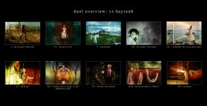 duel overview: vs bayronb by forever-simplicity