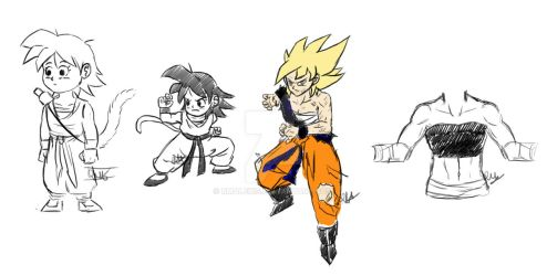 Fem!Goku references and opinions by RMAlexis
