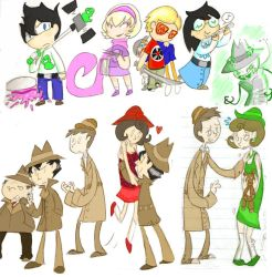 MSPA colored by Genaleah