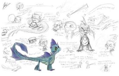 Squirt Ref Sheet by ninjagriff
