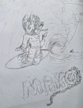 Mako Way For The Surfboard! [GIFT] by TurkBurg