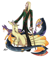 Lucius Malfoy the Pokemon Trainer