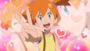 Misty from Sun and Moon Series by WillDynamo55