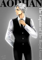 Aodhan in formal suit by eclie