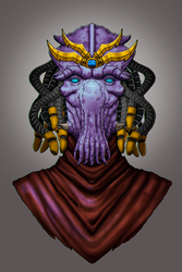 Protoss Priest by Aion696