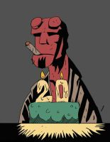Hellboy 20 Years by Alex-Claw