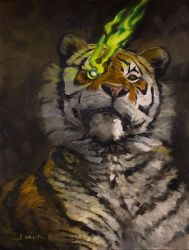 Tiger's Eye by AaronMiller