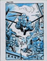 IDW TMNT Book One Layout by Kevineastman