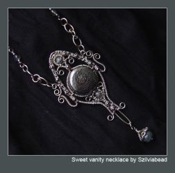 sweet vanity necklace by bodaszilvia