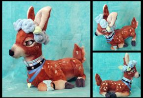 Sika Plushie by AppleDew