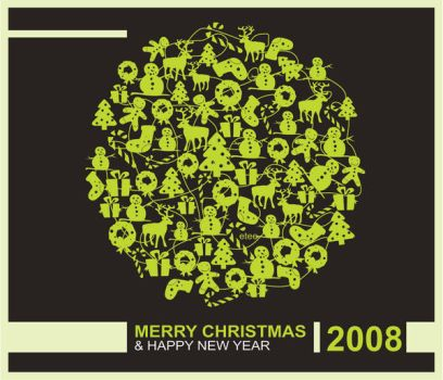 Christmas 08 by etee