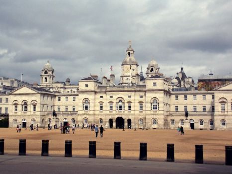 the Horse Guards Parade by Itaminosekai