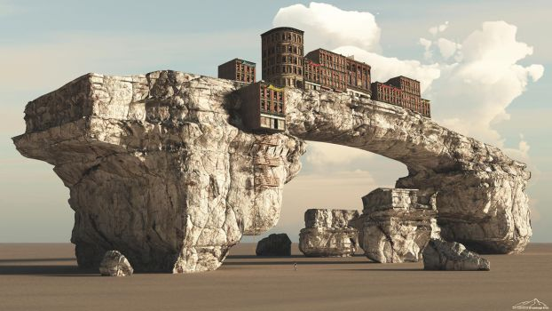 Almost Unreachable by 3DLandscapeArtist