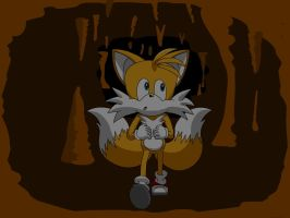 Tails in a cave by Ingolme