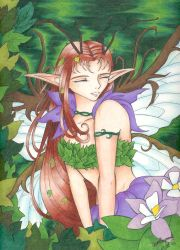 Smiling Faery by OmegaDevin