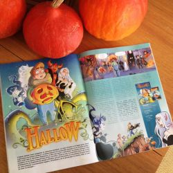 Article HALLOW dans BAMBOO Magazine by Ood-Serriere
