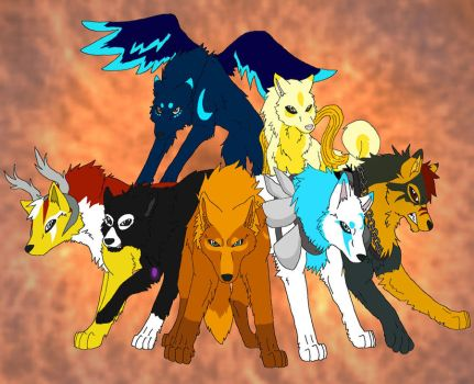 Request - Wolves of Equinox by Firewolf-Anime