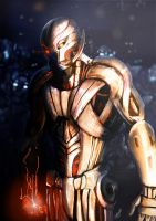 Ultron Fan Art by Kyronlighty69