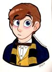 Newt Scamander (redraw) by Infinity-Drawings