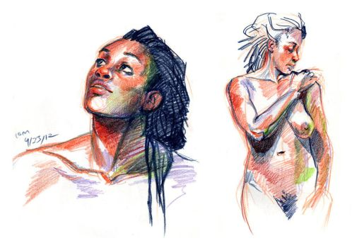 10min. life drawings 04/23/12 by bigbigtruck