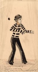 3 Clowns: Mime by AutumnOwl