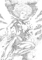 Jean Grey Phoenix by CaioMarcus-ART