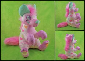Necco Plushie Commission by WispyChipmunk