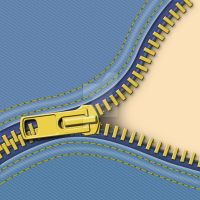 Zipper Background by Binkski
