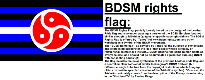 BDSM rights flag by n0-username