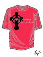 Divinity School T-Shirt 9 by simplemanAT