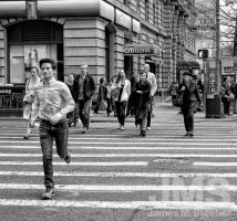 Broadway and Isaac Bashevis Singer Boulevard by steeber
