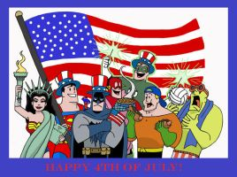 A Justice 4th of July by The-BlackCat