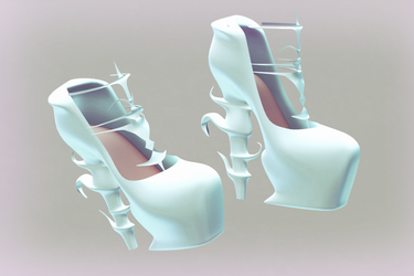 MMD Crystal Heels (Download up!) by AyaneFoxey
