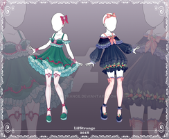[Close] Adoptable Outfit Auction 177-178 by LifStrange