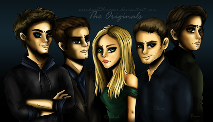 Vampire Diaries :: The Originals by sasukee23loveeer