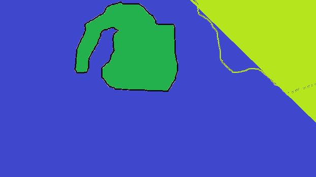 Crude Map of Island by tglooker