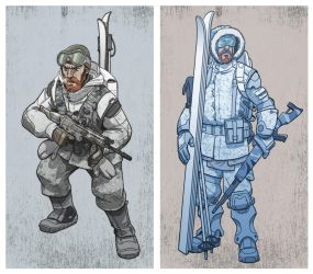 arctic trooper variations by jimmymcwicked