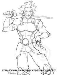 Lion-O commission by lady-cybercat