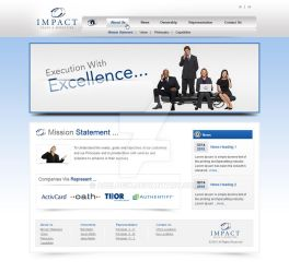 Impact Sales Website Design by acelogix